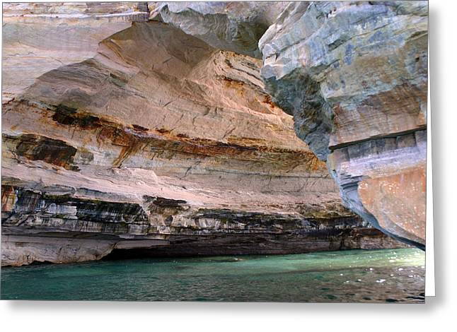 Pictured Rocks Bridge II Greeting Card by Kevin Snider
