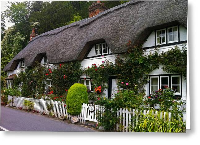 Picturesque Cottage Greeting Card