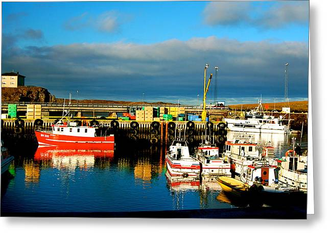 Greeting Card featuring the photograph Picturesque Harbour by HweeYen Ong
