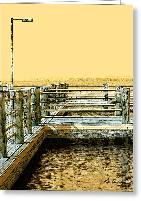 Pier 2  Image A Greeting Card