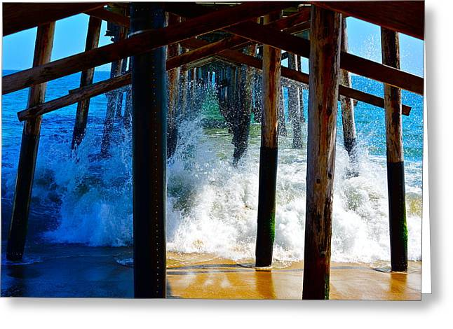 Pier Greeting Card by Amanda Miles