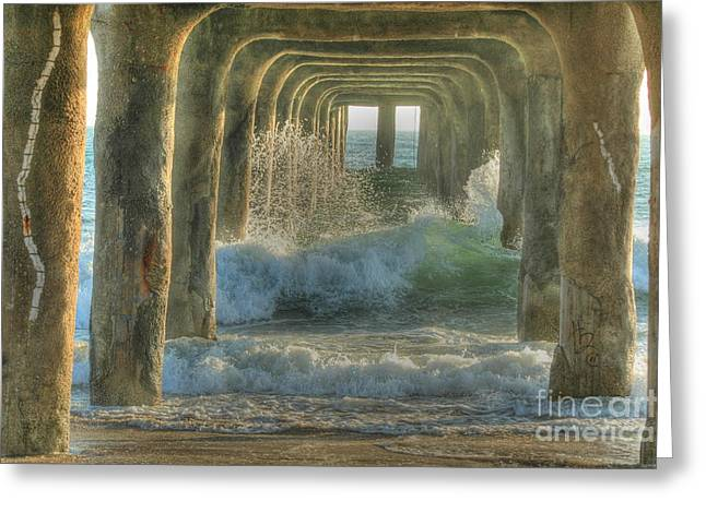 Pier Arches Greeting Card