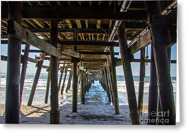 Pier Clemente Greeting Card by Baywest Imaging