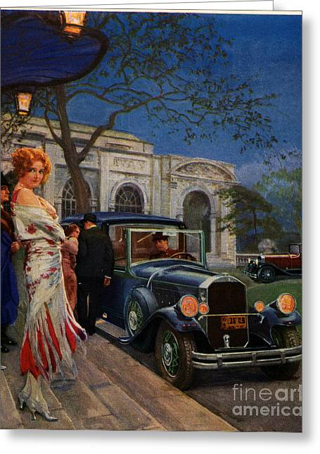 Pierce Arrow  1920s Usa Cc Cars Womens Greeting Card by The Advertising Archives