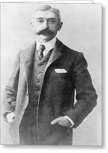 Pierre De Coubertin (1863-1937) Greeting Card by Granger