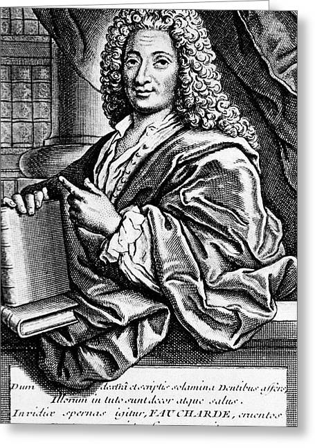 Pierre Fauchard Greeting Card by National Library Of Medicine