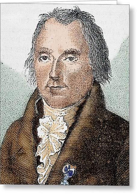 Pierre Simon De Laplace (1749-1827 Greeting Card