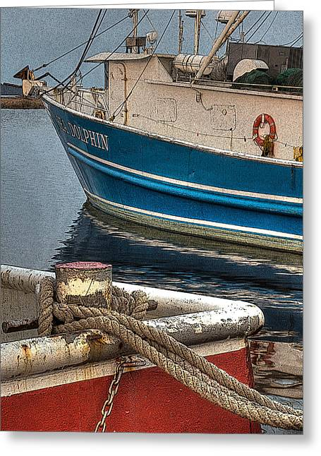 Pierside Greeting Card