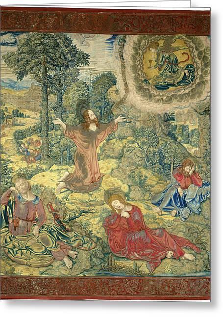 Pieter Pannemaker I After Bernard Van Orley Greeting Card