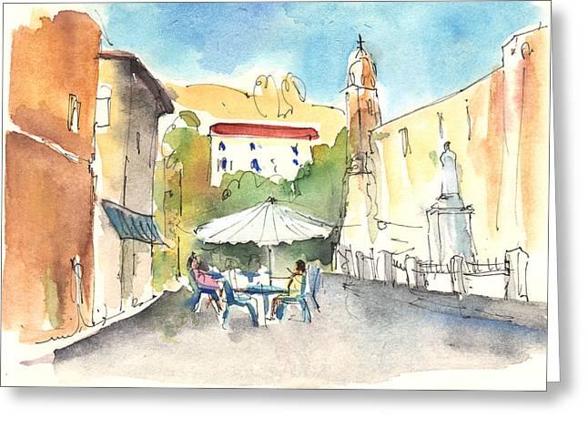Pietrasanta In Italy 02 Greeting Card by Miki De Goodaboom