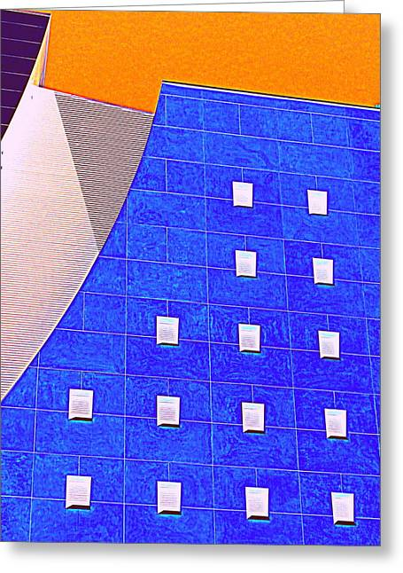 Pig Eye Windows Greeting Card by Randall Weidner