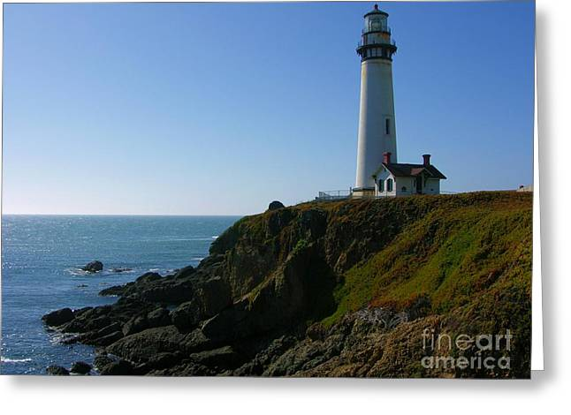 Pigeon Point Light Station Greeting Card
