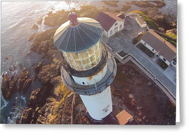 Pigeon Point Lighthouse 1 Greeting Card by David Junod