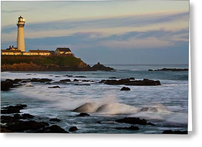 Pigeon Point Lighthouse, Pescadero Greeting Card