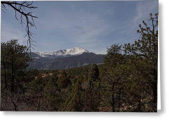 Pikes Peak 1 Greeting Card