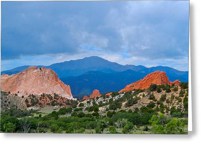 Pikes Peak Greeting Card