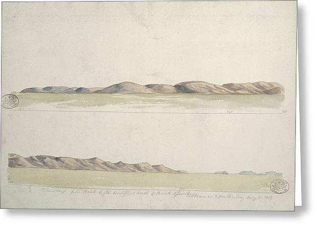 Pilansberg Mountains, Artwork Greeting Card