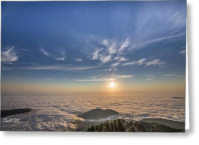 Pilchuck West 2 Greeting Card