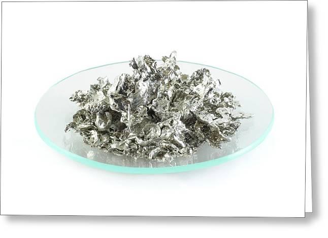 Pile Of Tin Granules Greeting Card
