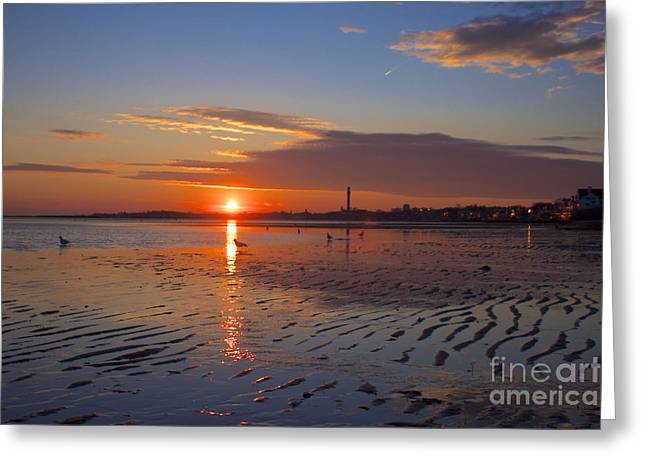 Pilgrim Monument Greeting Card by Amazing Jules