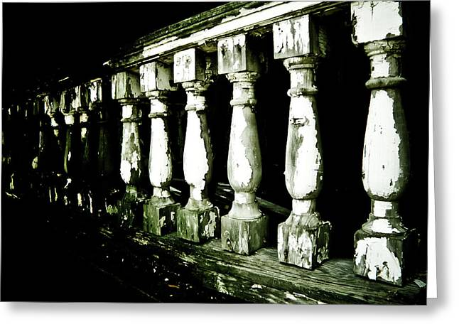 Pillars Greeting Card by Jessica Brawley