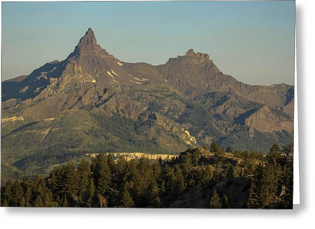 Pilot And Index Peaks Greeting Card