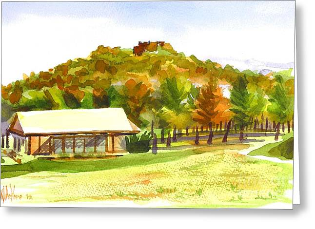 Pilot Knob Mountain 2 Greeting Card by Kip DeVore