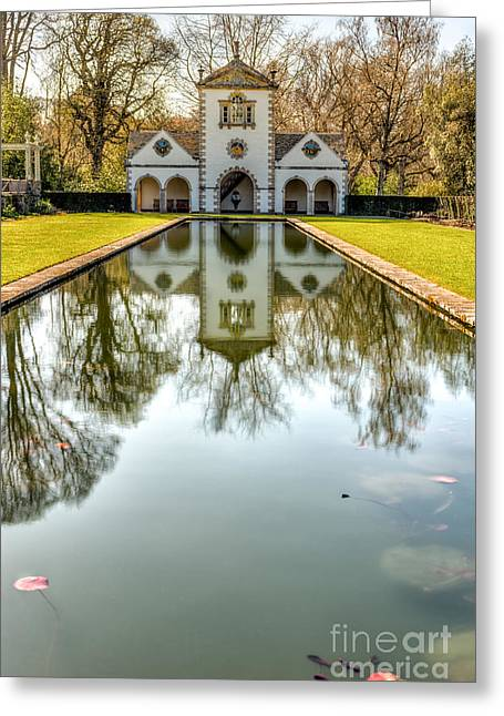 Mill Pond Greeting Card by Adrian Evans