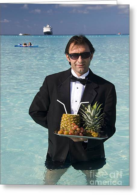 Pina Colada Anyone Greeting Card