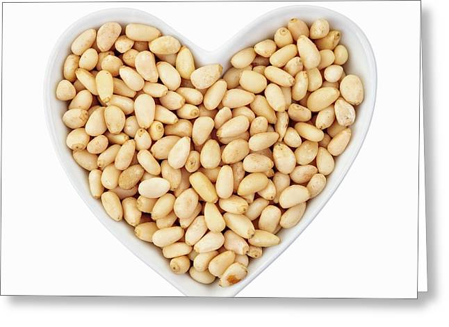 Pine Nuts Greeting Card