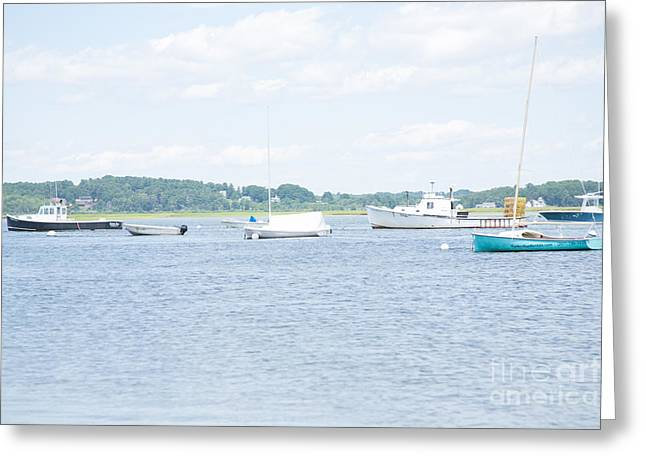 Pine Point Beach Greeting Card by Victoria  Dauphinee