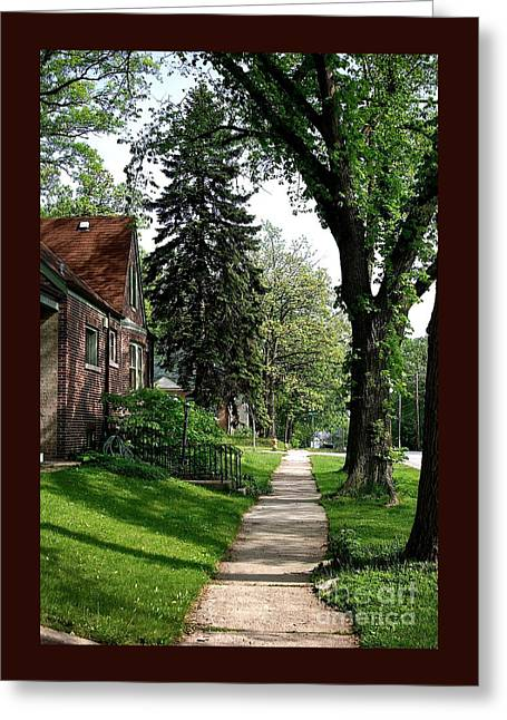 Pine Road Greeting Card