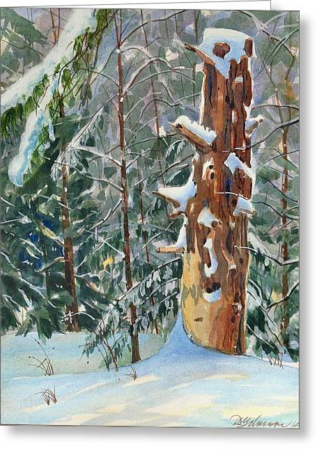 Pine Sentinel Greeting Card