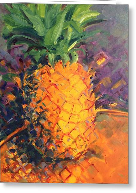 Pineapple Explosion Greeting Card