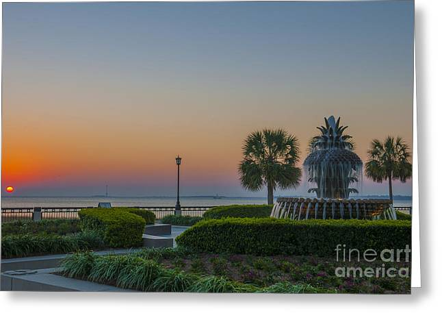 Greeting Card featuring the photograph Dawns Light by Dale Powell