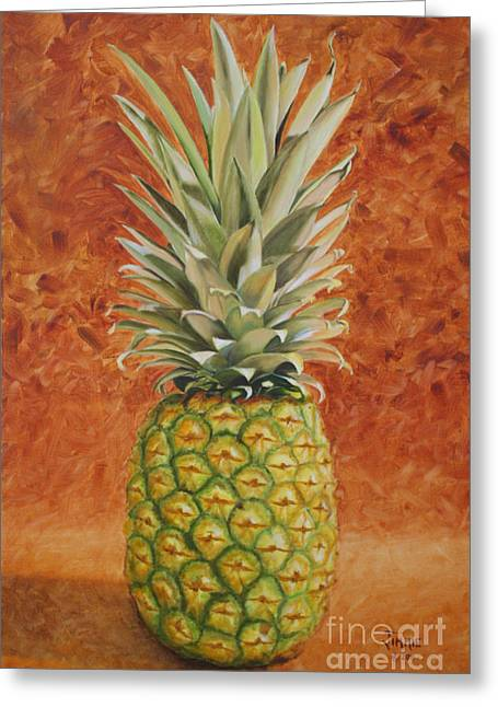 Pineapple  Greeting Card by Jimmie Bartlett