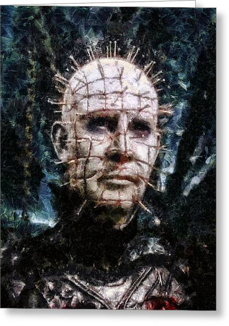 Pinhead Greeting Card