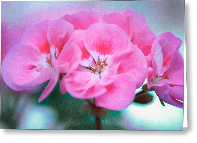 Greeting Card featuring the photograph Pink Beauty by Garvin Hunter