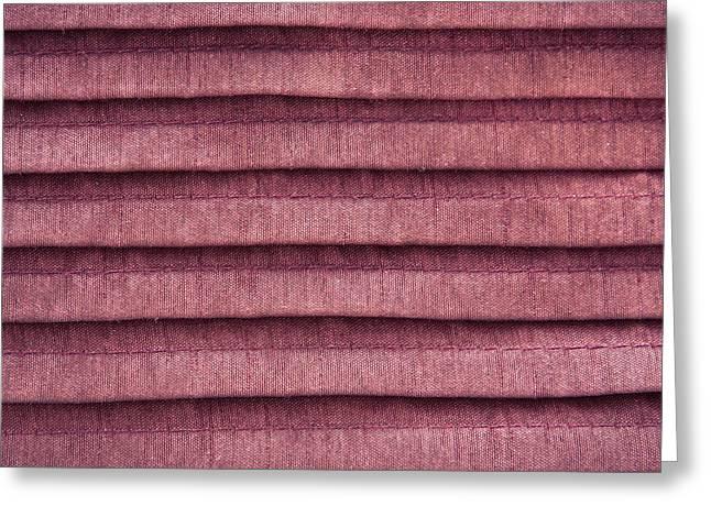 Pink Cloth Greeting Card by Tom Gowanlock