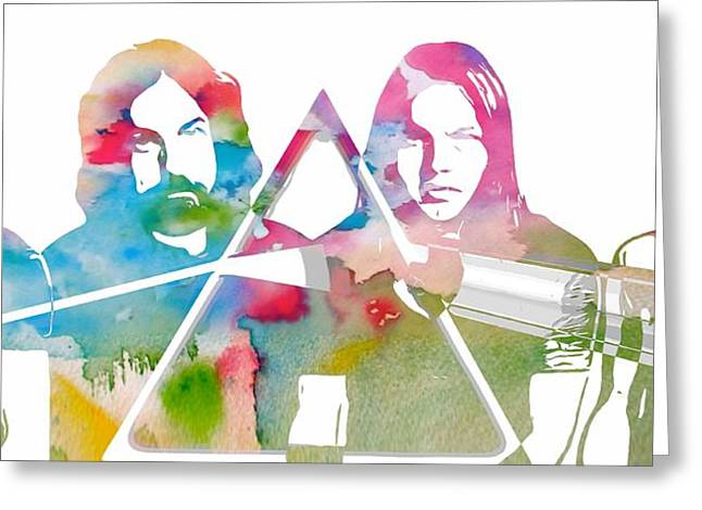 Pink Floyd Greeting Card by Dan Sproul