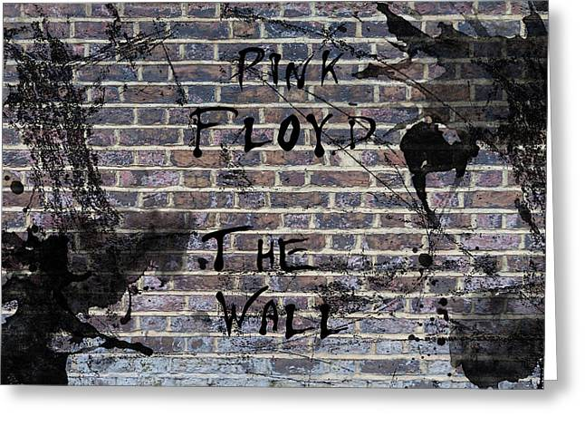 Pink Floyd The Wall Greeting Card