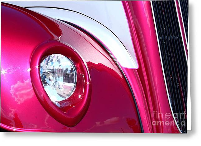 Greeting Card featuring the photograph Pink Passion by Linda Bianic
