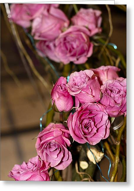 Greeting Card featuring the photograph Pink Roses by Patrice Zinck