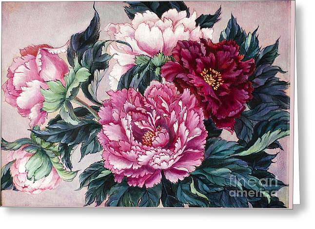 Pink Velvet Greeting Card by Irina Effa
