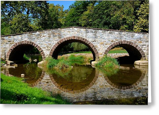 Pinkerton Road Bridge Greeting Card