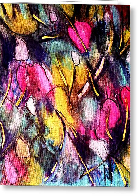 Pinktulips 2 Greeting Card
