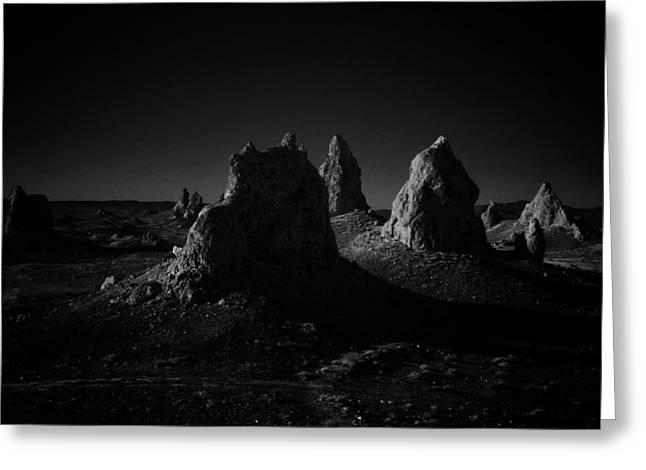 Pinnacles Facing The Sunrise Greeting Card