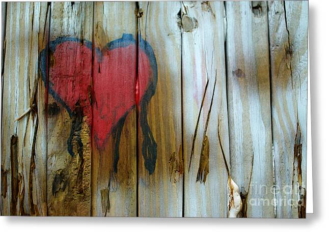 Greeting Card featuring the photograph Pinocchio's Heart by Glenda Wright
