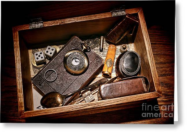Pioneer Keepsake Box Greeting Card by Olivier Le Queinec