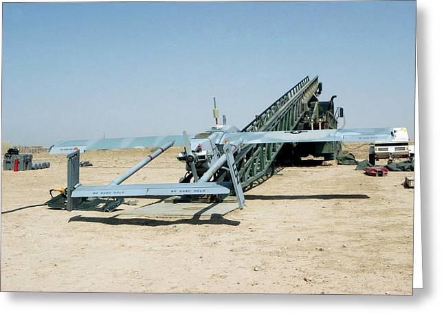 Pioneer Unmanned Aerial Vehicle Greeting Card